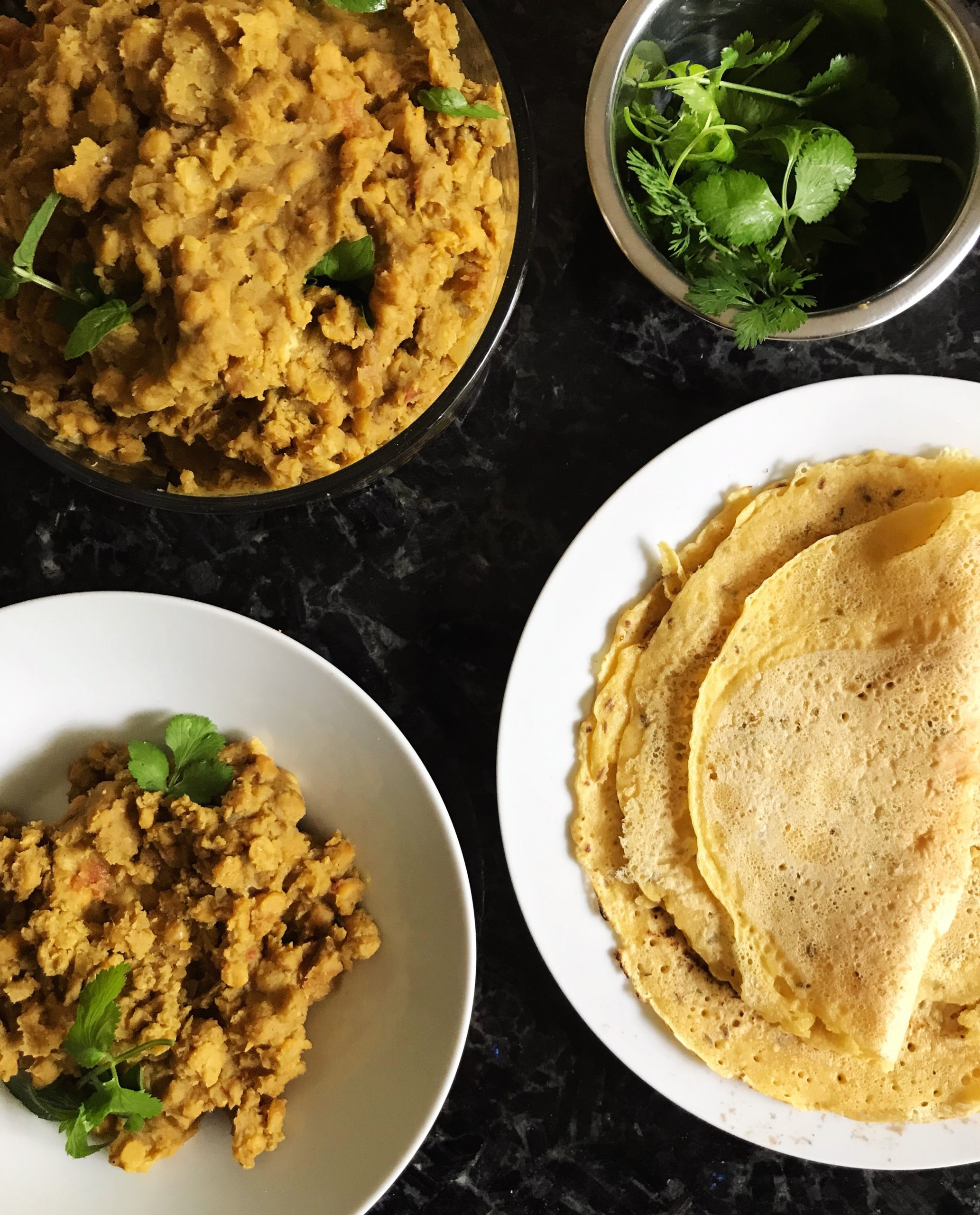 Vegan Red Lentil and Channa Dal || Instant Pot