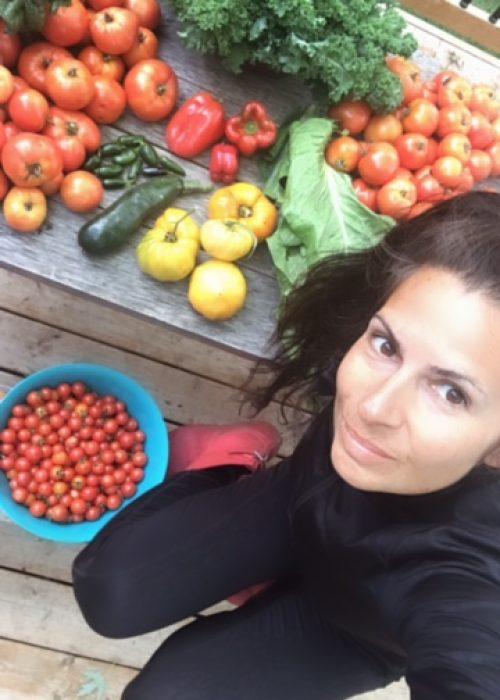 me with veggies